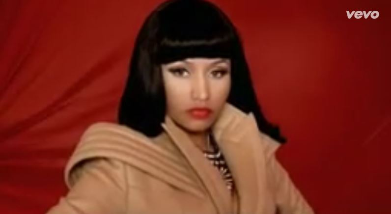 Nicki Minaj - Your Love © Capture via Youtube