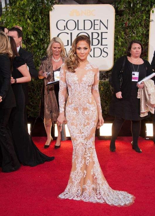 Jennifer Lopez aux Golden Globes 2013 © HFPA